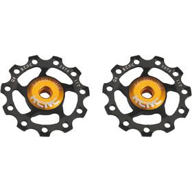 KCNC Jockey Wheel 11 zębów, łożysko ze stali nierdzewnej, 1 para